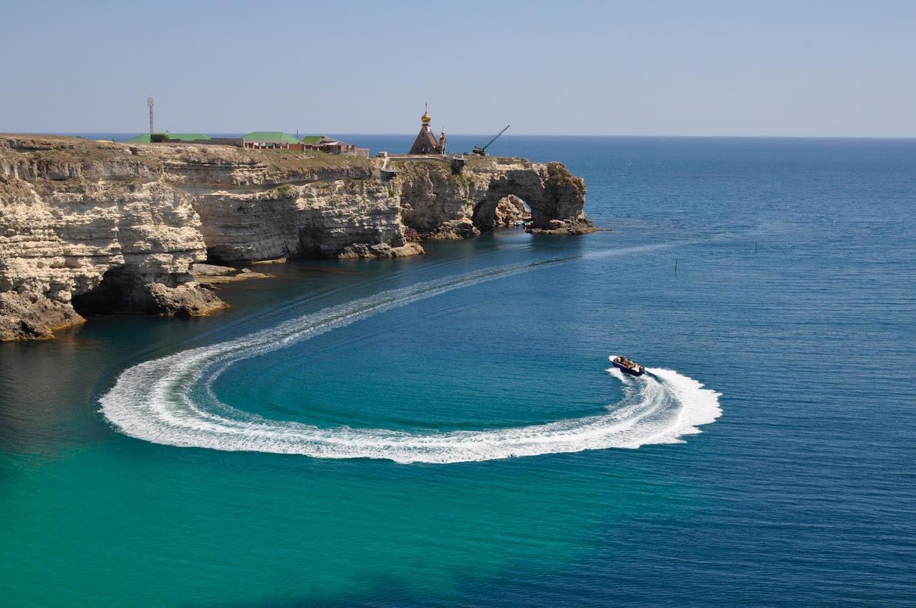 Крым тарханкут фото пляжей и набережной